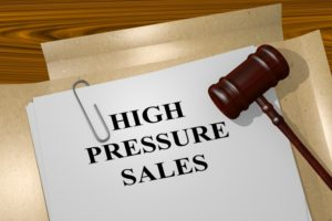 High Pressure Sales