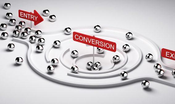 Marketing Conversion Funnel for B2B Customer Relationships